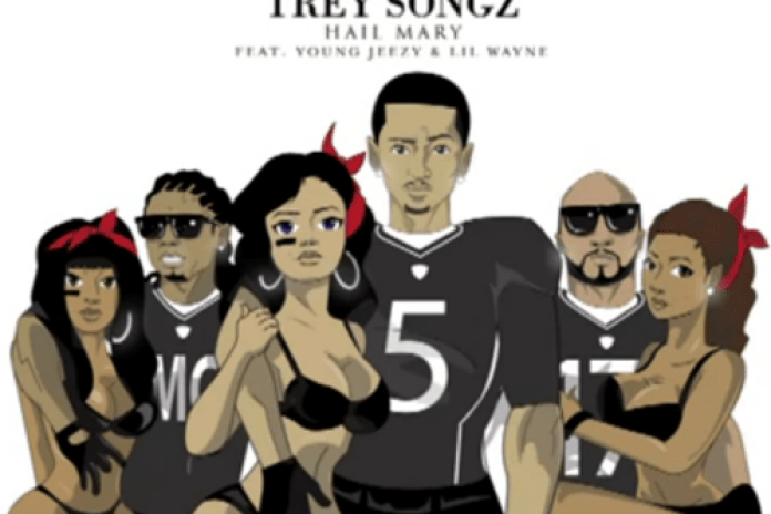 Trey Songz featuring Young Jeezy & Lil Wayne - Hail Mary