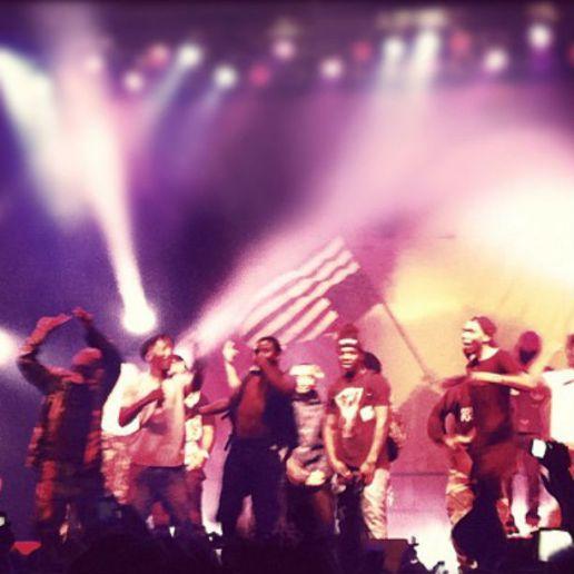 A$AP Mob Performs At The Roseland Ballroom