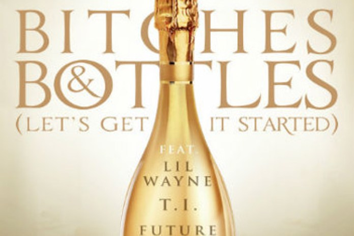 DJ Khaled featuring Ace Hood, Lil Wayne, T.I. & Future - B*tches & Bottles (Remix)