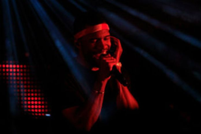 Frank Ocean & Bon Iver Perform at vitaminwater 'Uncapped' Concert