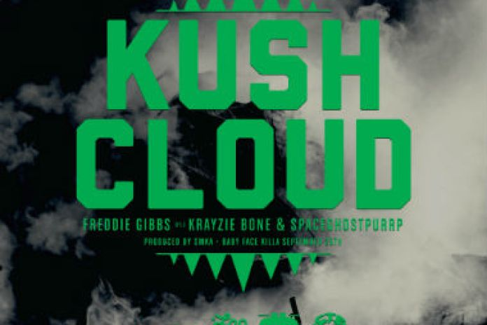 Freddie Gibbs featuring Krayzie Bone & SpaceGhostPurrp - Kush Cloud