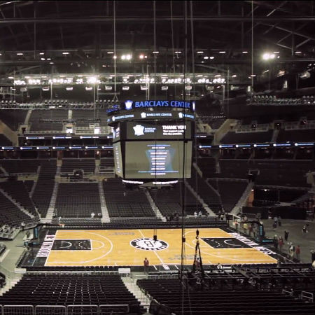 Inside the Brooklyn Nets' Barclays Center