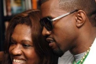 Kanye West Raps with His Mother Donda West in 2003