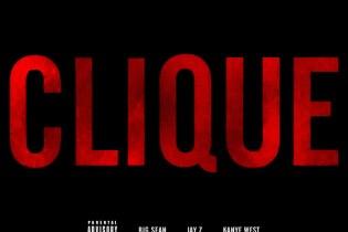 Kanye West featuring Jay-Z & Big Sean - Clique (Artwork)