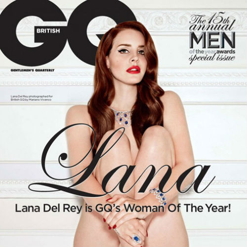 Lana Del Rey 'Woman of the Year 2012' GQ Photoshoot