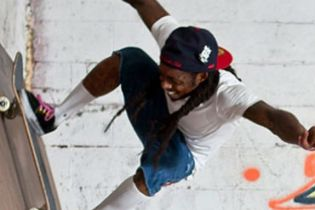 Lil Wayne Opens Skate Park in New Orleans