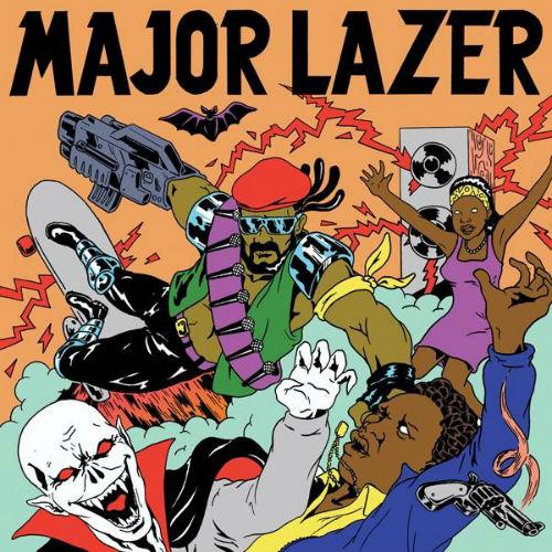 Major Lazer Push Back Album Release