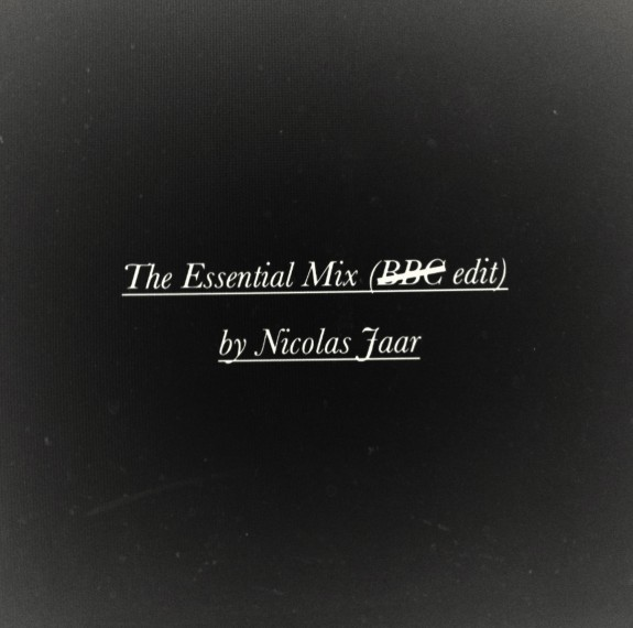 Nicolas Jaar – The Essential Mix (no BBC Edit)