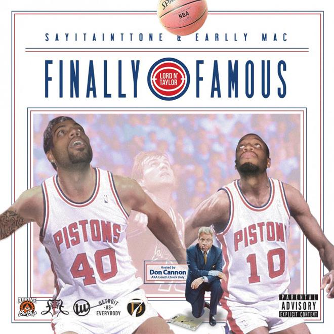SAYITAINTTONE & Earlly Mac featuring Big Sean & Juicy J - On Deck