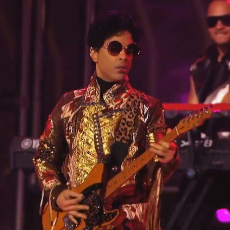 Prince - Rock N' Roll Love Affair (Live on Jimmy Kimmel)