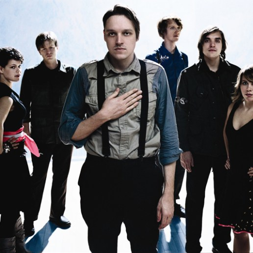 """Arcade Fire Perform a New Song Titled """"Crucified Again"""""""