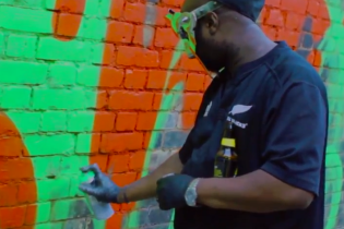 DOOM Does Graffiti for adidas Originals