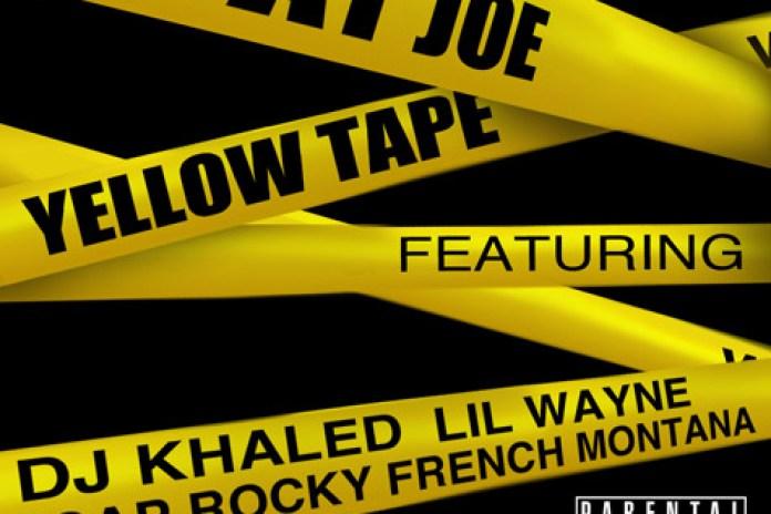 Fat Joe featuring Lil Wayne, A$AP Rocky & French Montana - Yellow Tape