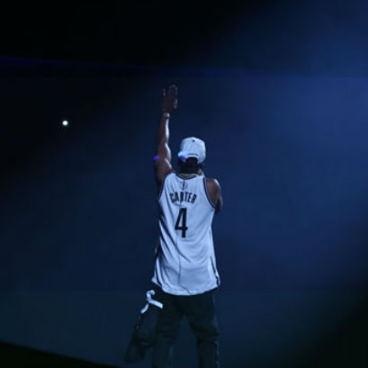 Jay-Z Auctioning #4 Brooklyn Nets Jerseys