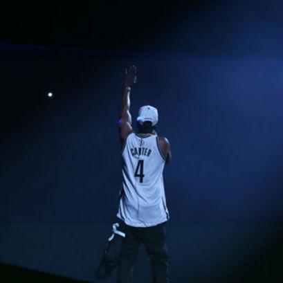 Jay-Z Auctioning #4 Brooklyn Nets Jerseys
