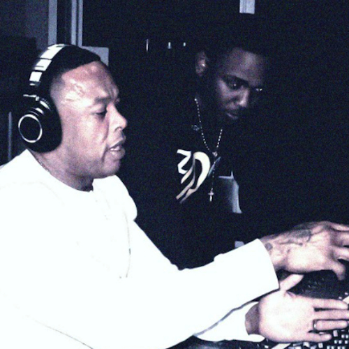 "Kendrick Lamar, Andre 3000 & Dr. Dre Preview ""B*tch, Don't Kill My Vibe"" in the Studio"