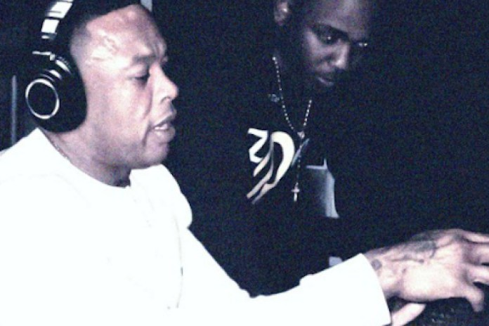 """Kendrick Lamar, Andre 3000 & Dr. Dre Preview """"B*tch, Don't Kill My Vibe"""" in the Studio"""