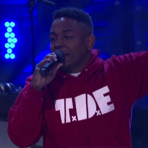 Kendrick Lamar - Swimming Pools (Drank) (Live on Conan)