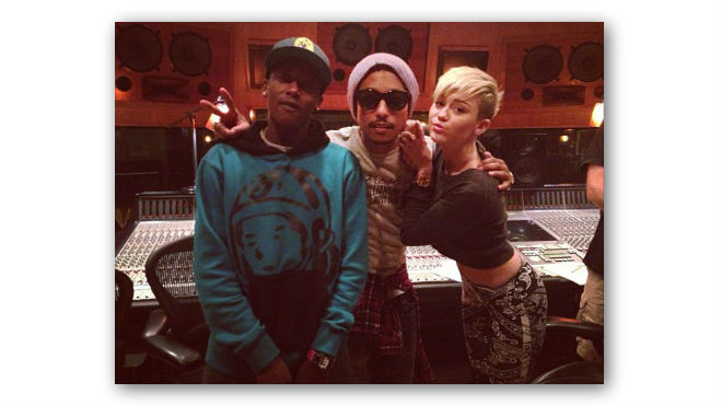 Pharrell Williams, Miley Cyrus & Tyler, the Creator in the ...