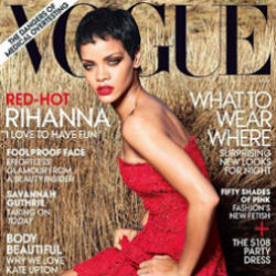 Rihanna Covers Vogue
