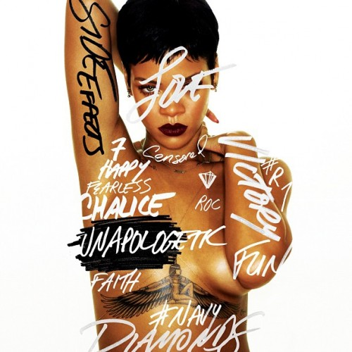 Rihanna Unveils New Album Cover
