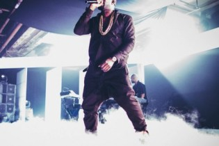 "Kanye Performs ""New God Flow/Mercy"" at Samsung Galaxy Note II Launch"