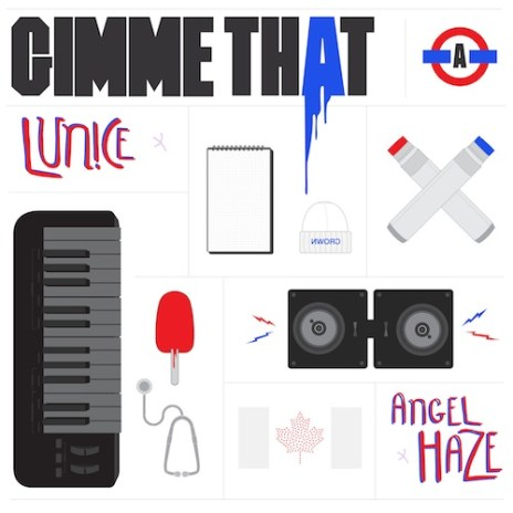 Angel Haze & Lunice - Gimme That