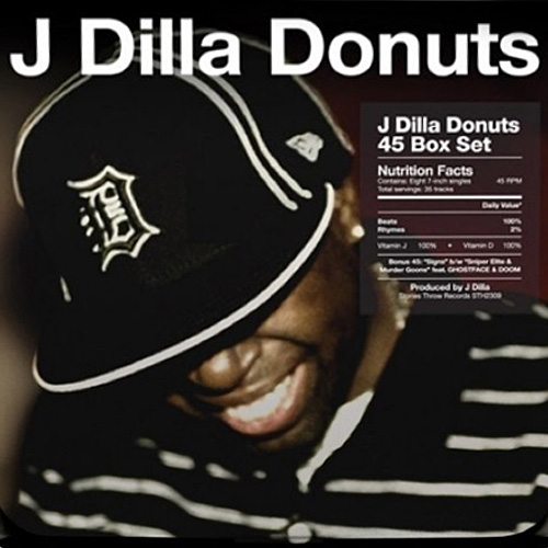 "J Dilla's 'Donuts' LP to Be Reissued as 7"" Box Set"