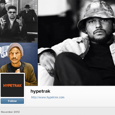 HYPETRAK Instagram's Web Profile Is Now Online