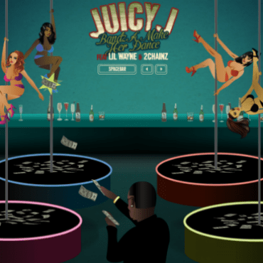 "Juicy J Presents the ""Bandz A Make Her Dance"" Online Video Game"