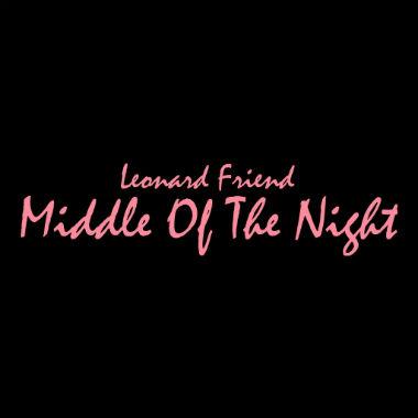 HYPETRAK Premiere: Leonard Friend - Middle Of The Night