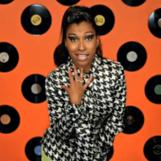 Melanie Fiona featuring B.o.B  – Change The Record