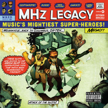 MHz Legacy featuring Blu – Yellow + Blue
