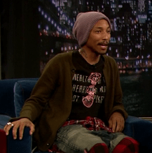 Pharrell on 'Late Night with Jimmy Fallon'