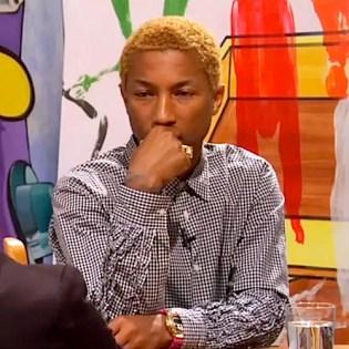 Pharrell Interviews KAWS & David Salle