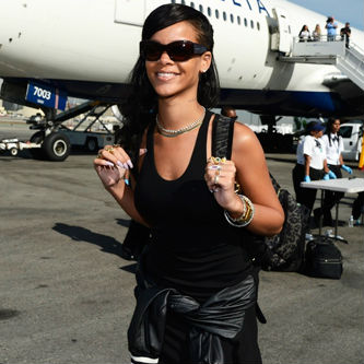 Media Gets Restless on Rihanna's 777 Tour Plane