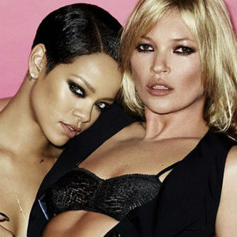 Rihanna & Kate Moss for V Magazine by Mario Testino