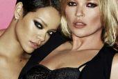 Rihanna & Kate Moss for V Magazine by Mario Testino