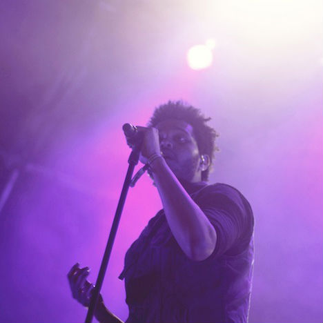 The Weeknd Performs Four Songs on BBC Radio 1