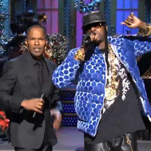 2 Chainz & Jamie Foxx - Birthday Song (Live on SNL)