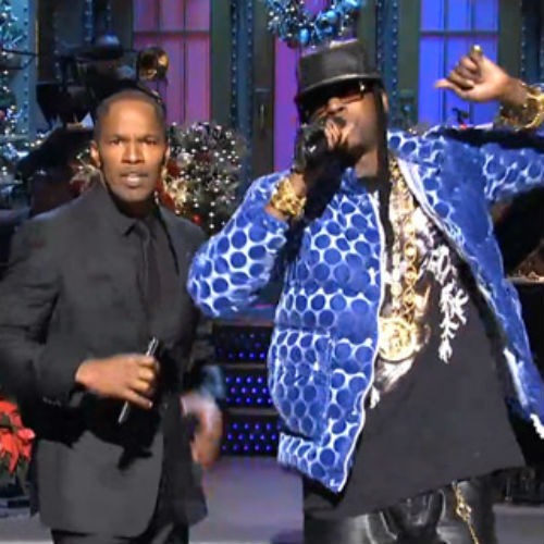 2 Chainz & Jamie Foxx - Birthday Song (Live on SNL)