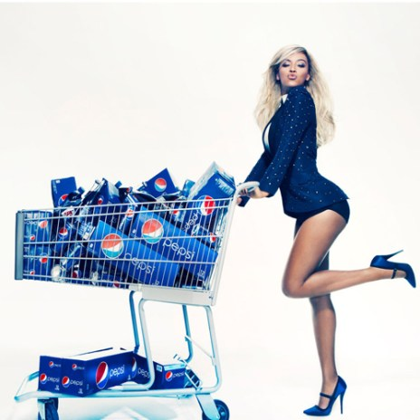 Beyoncé Signs $50 Million Pepsi Deal