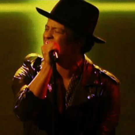 Bruno Mars Performs on 'The X Factor'