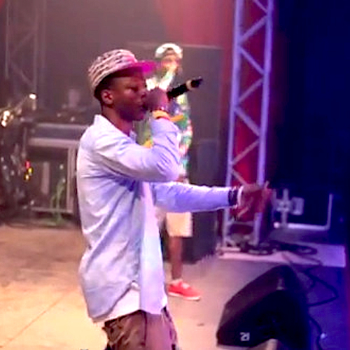 "Joey Bada$$ ""Pantie Raid"" Performance at Splash! Festival 2012"