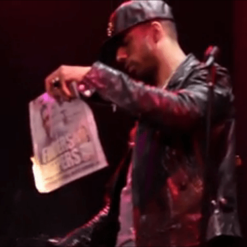 Ryan Leslie Reacts To Laptop Verdict During Performance at Long Island University