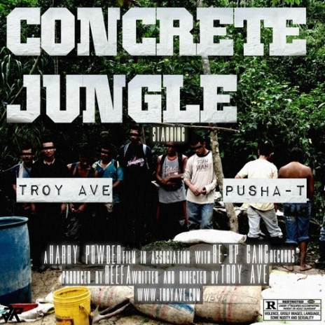 Troy Ave featuring Pusha T - Concrete Jungle