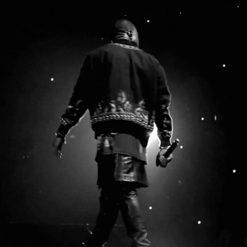 "Kanye West's Backstage Discussions About His Givenchy ""Kilt"""