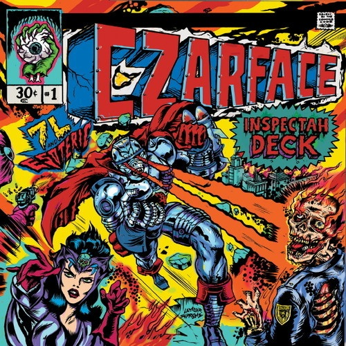 Czarface (Inspectah Deck, 7L & Esoteric) featuring  Action Bronson - It's Raw