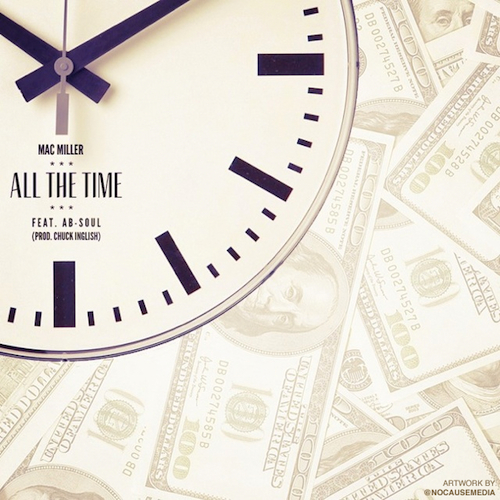 Mac Miller featuring Ab-Soul - All The Time (Produced by Chuck Inglish)