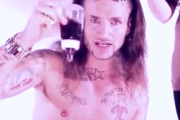 RiFF RAFF - WHiTE SiLK PANTS
